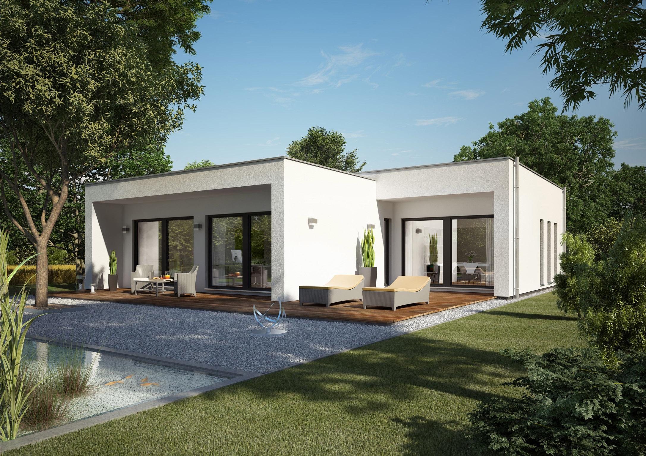 Wohn designtrend bungalow aus holz und glas von zech architektur 01