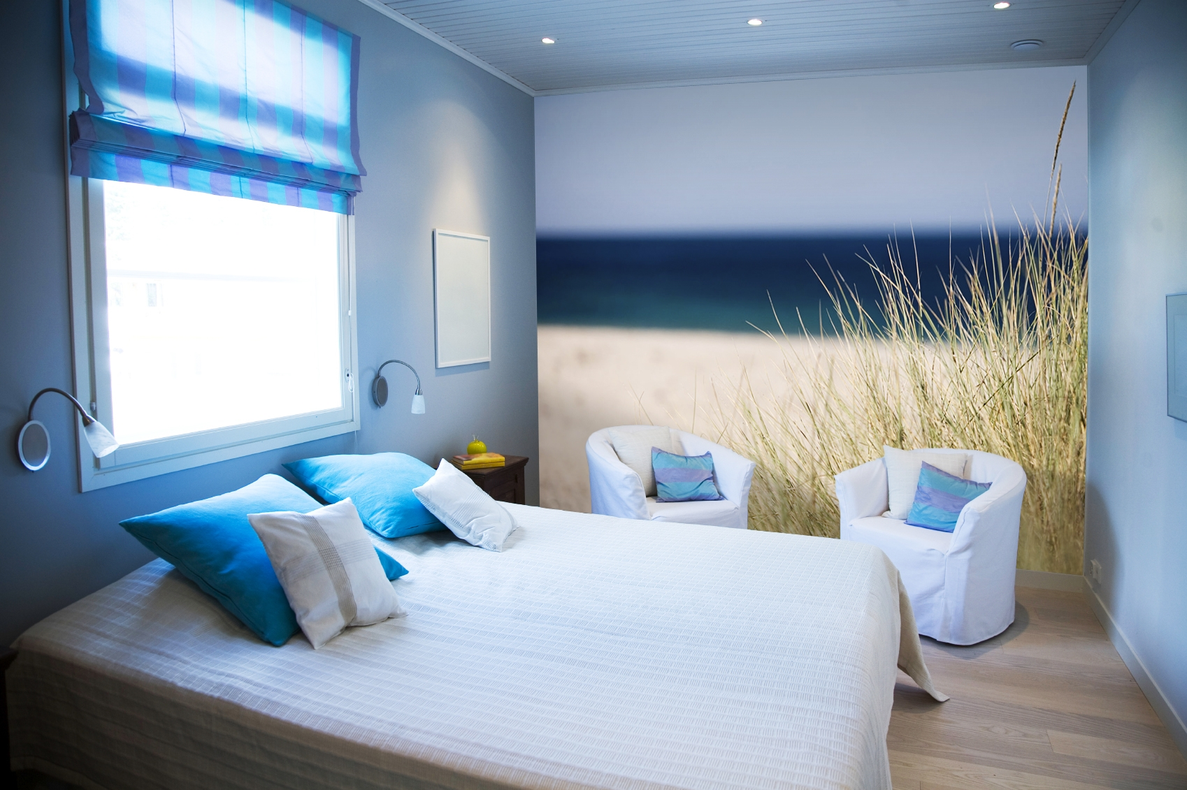 lifepr beach themed bedroom for better sleeping quality