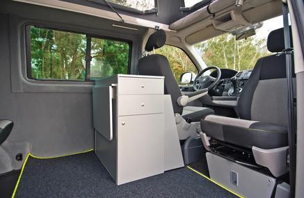 neue umbauserie von volksawagen t5 transporter zum. Black Bedroom Furniture Sets. Home Design Ideas