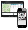 The mobility solution for fleet management and access systems appeals thanks to its security, function and design