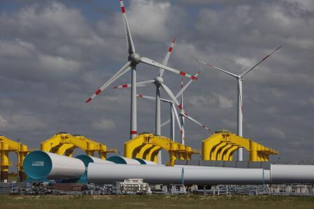Windenergieanlagen auf waldflächen