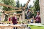 Center Parcs adds third Sky Tykes ropes course to another location