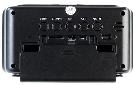 octacam hightech tischuhr mit hd kamera und. Black Bedroom Furniture Sets. Home Design Ideas
