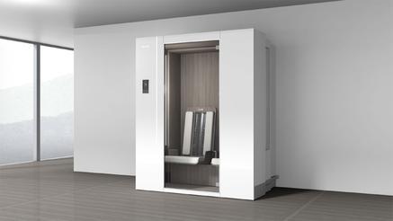 so wird die infrarotkabine der zukunft aussehen klafs gmbh co kg pressemitteilung. Black Bedroom Furniture Sets. Home Design Ideas