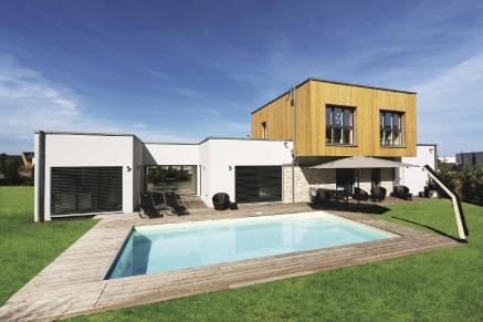als letzte im wohngebiet begonnen als erste fertig gebaut weberhaus gmbh co kg. Black Bedroom Furniture Sets. Home Design Ideas