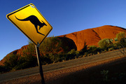 Ayers Rock - Road