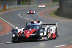 Toyota Gazoo Racing in the Mix at Le Mans