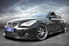 BMW E60/61 with m-technic styling and tuning