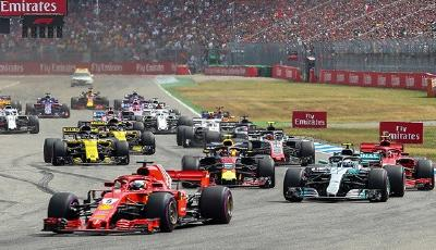 Start F1 Hockenheimring