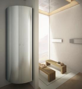 ausgefallener bad designheizk rper als eine art w rmeschrank roc design gmbh wohnw rme. Black Bedroom Furniture Sets. Home Design Ideas