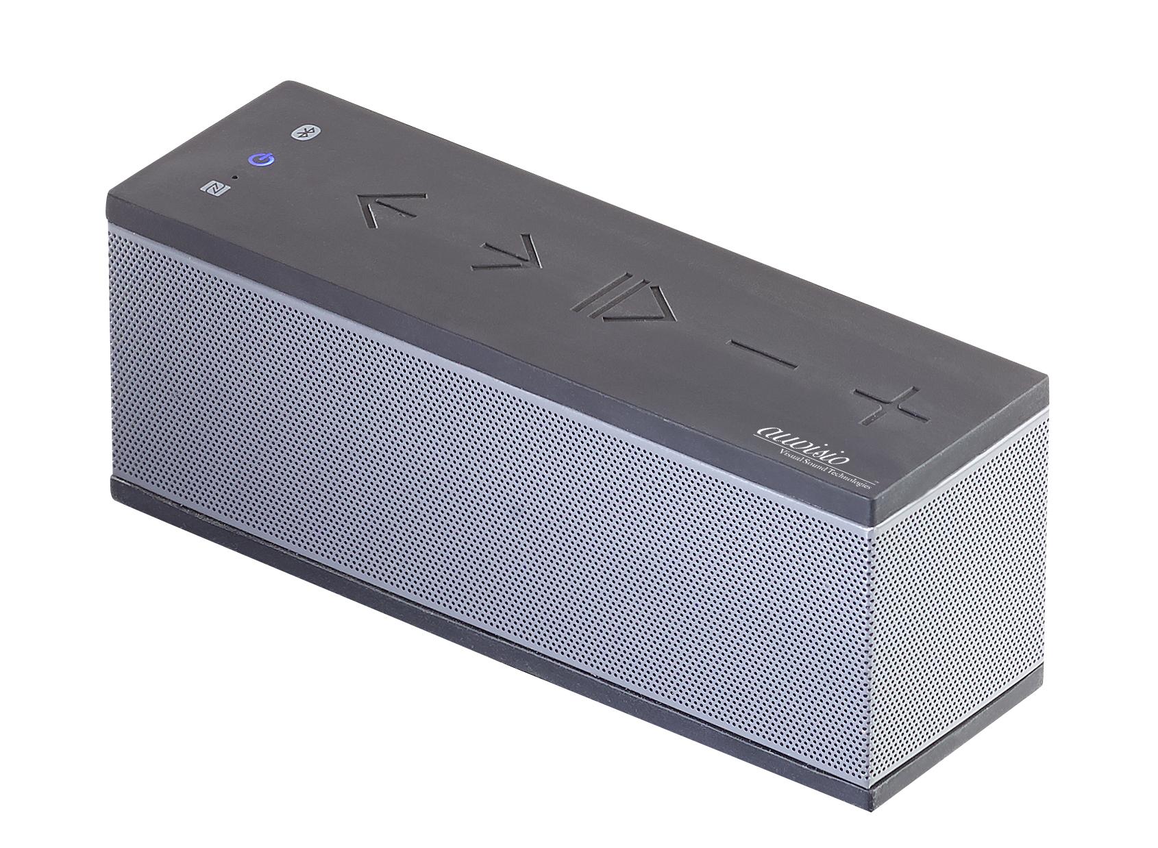 auvisio Bluetooth-Stereo-Lautsprecher mit Freisprecher