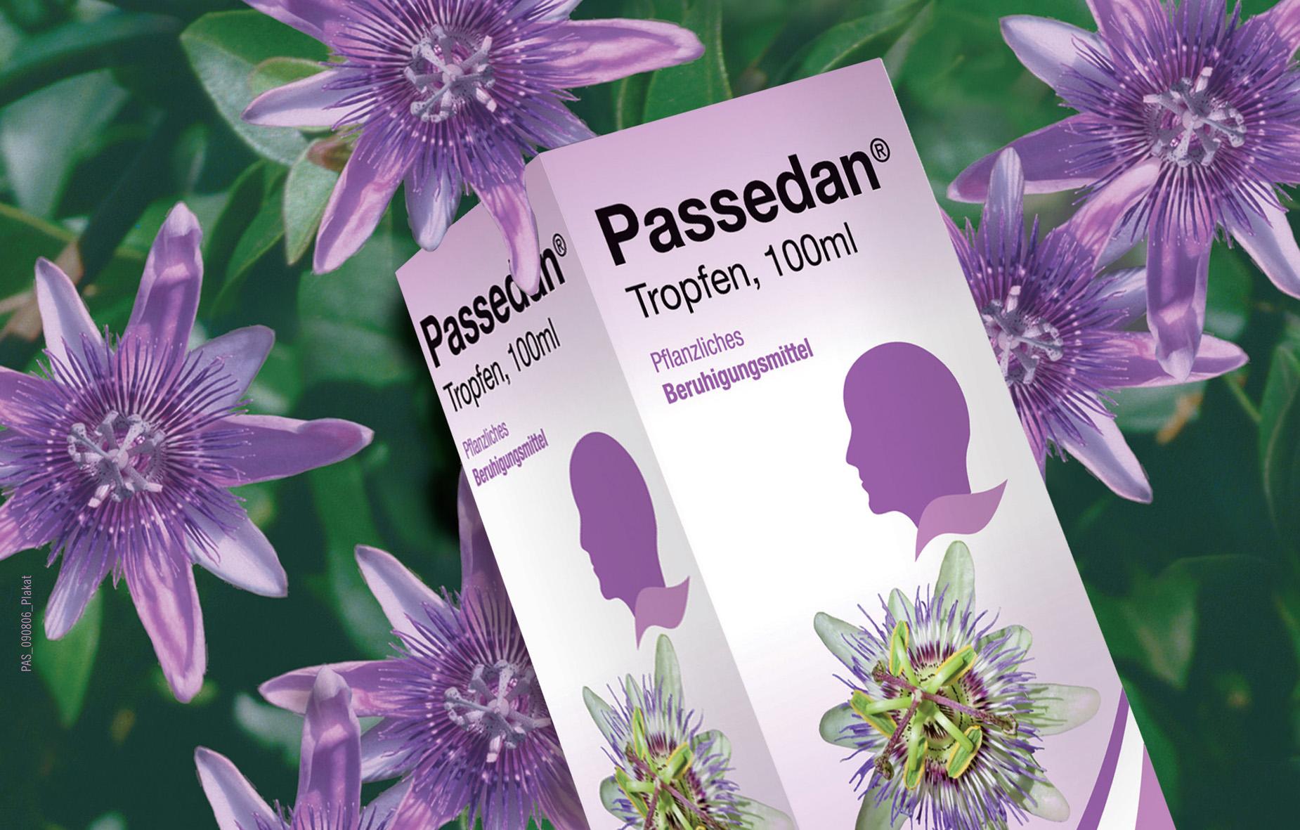 Tropfen passedan Passedan®: Wirkung