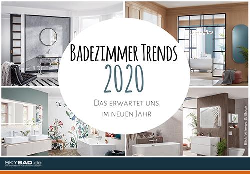 Badezimmer Trends 2020, Skybad GmbH, Pressemitteilung - lifePR