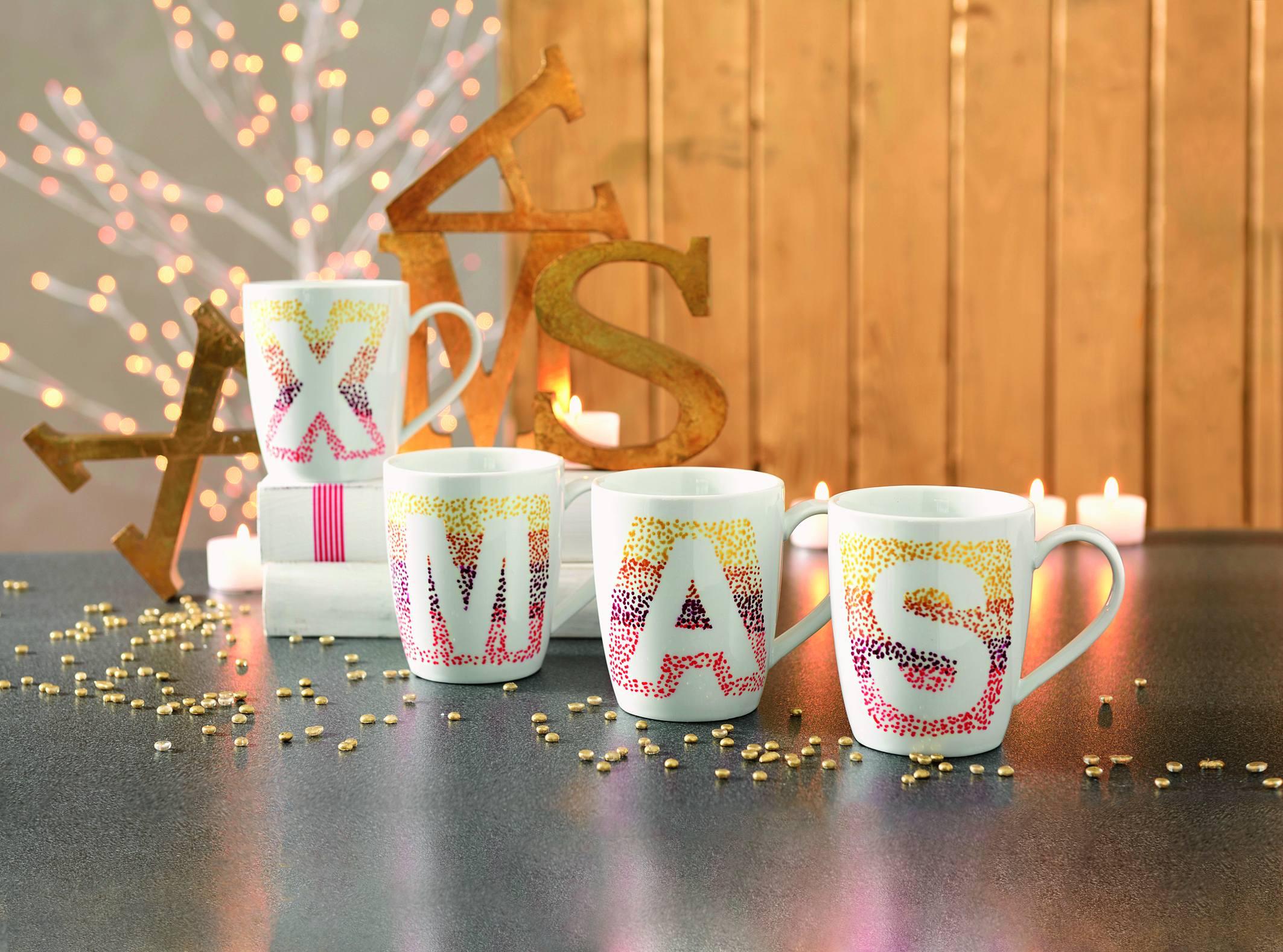 weihnachtliche unikate ganz einfach selbst gemacht mit dem marabu porcelain painter marabu. Black Bedroom Furniture Sets. Home Design Ideas