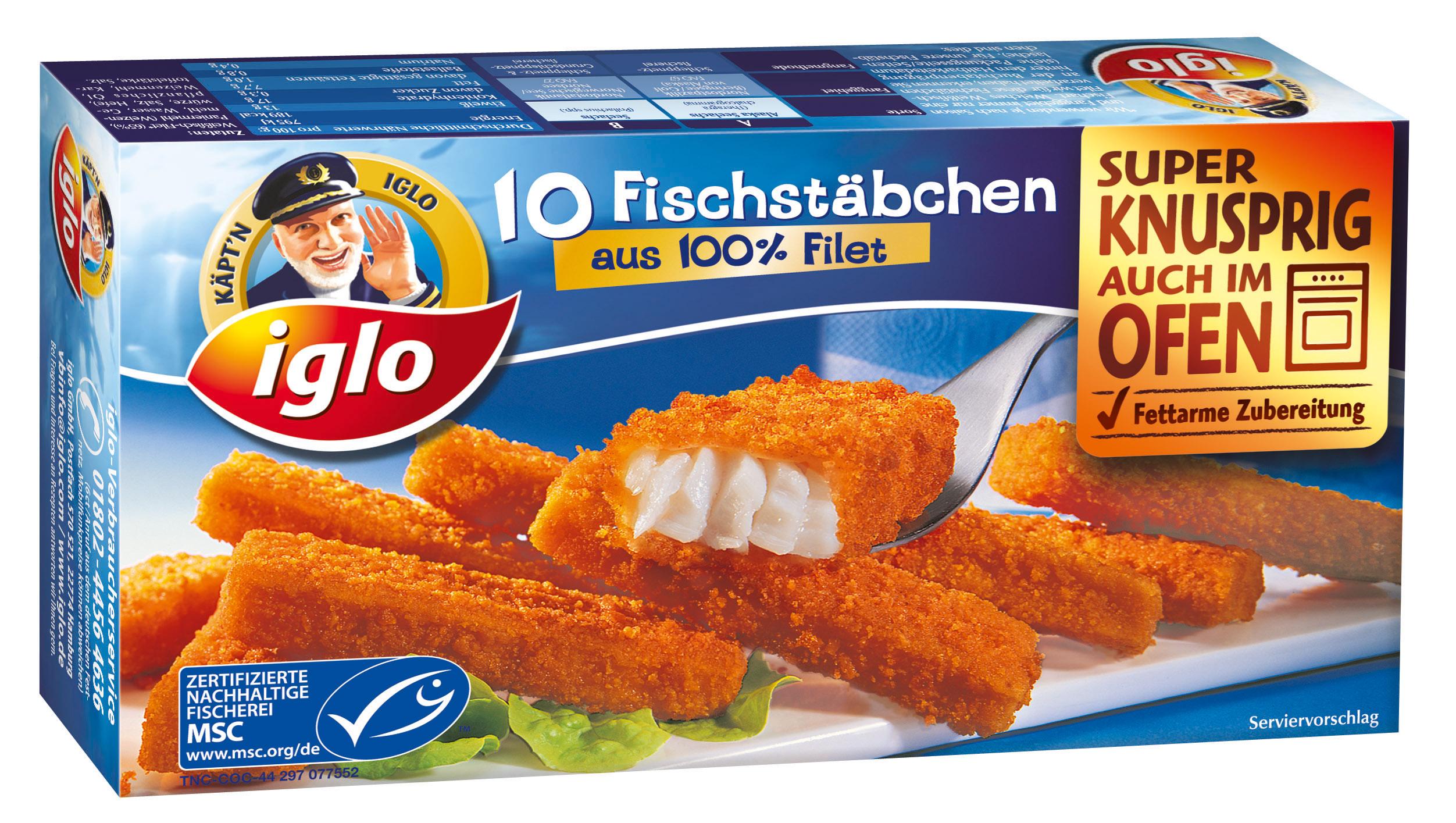 iglo Fischstäbchen: Neue TV-Abenteuer mit Käpt'n iglo ...