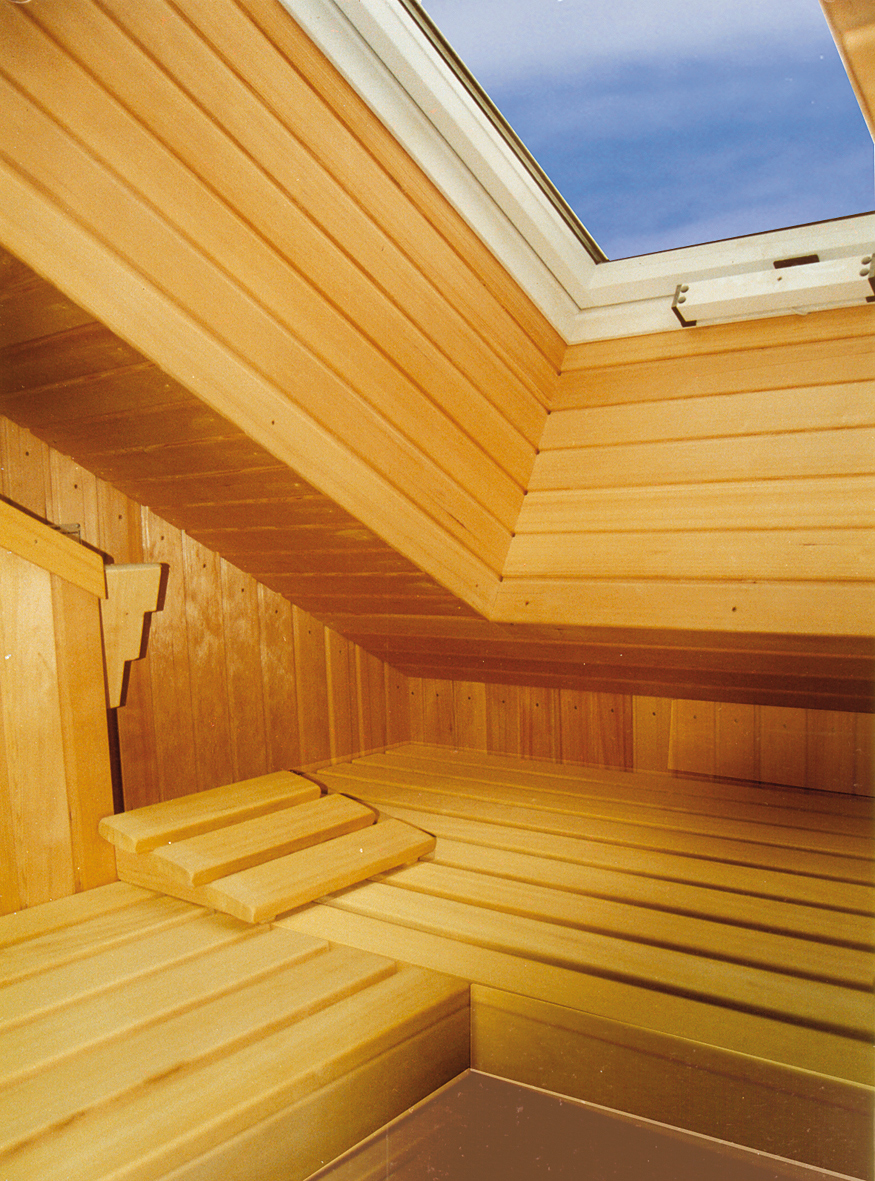 wellness erlebnis auch unter der dachschr ge paul bemberg sauna und fitness vertriebs gmbh. Black Bedroom Furniture Sets. Home Design Ideas