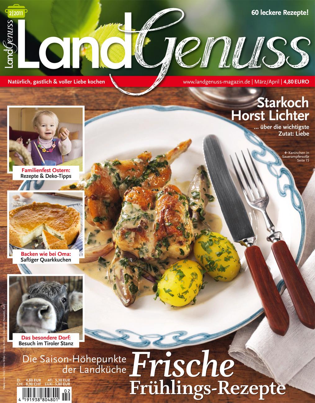 """LandGenuss""""-Magazin ab 25. Februar erhältlich - falkemedia GmbH & Co ..."""