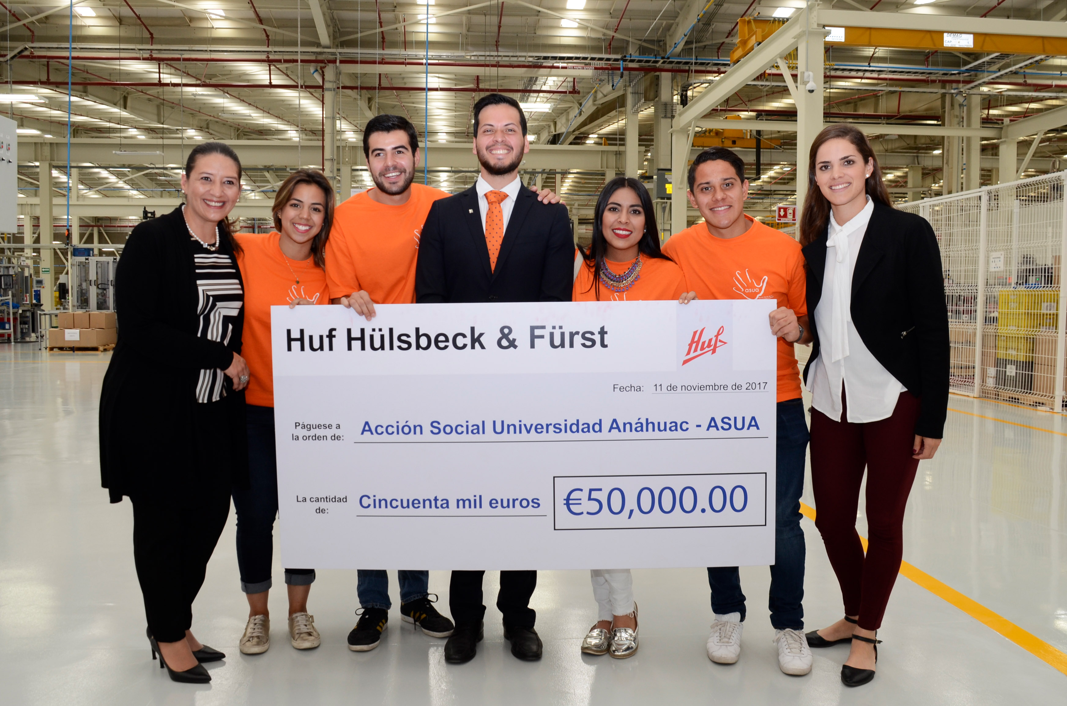 Great support for earthquake victims in Mexico - Huf Hülsbeck ...
