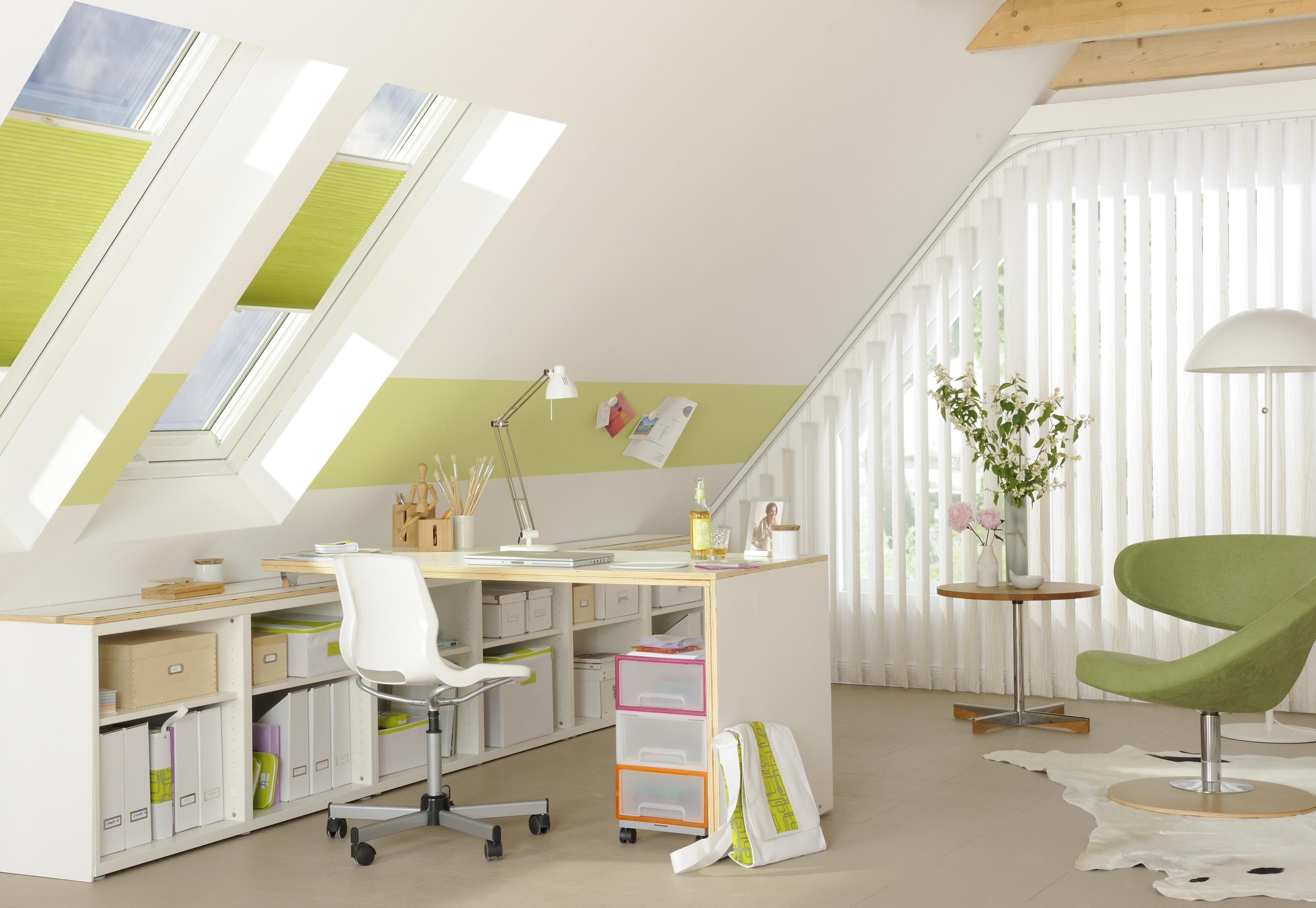 hitze unterm dach angenehm wohnen arbeiten und leben mit dekorativem sonnenschutz teba. Black Bedroom Furniture Sets. Home Design Ideas