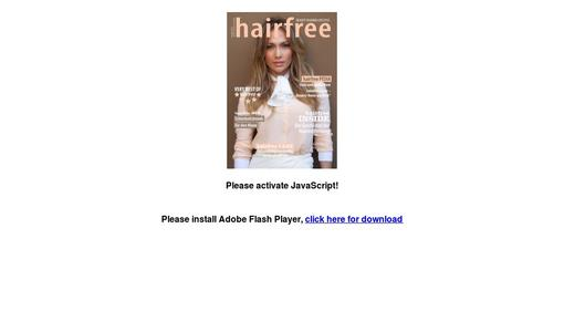 hairfree Magazin 2015