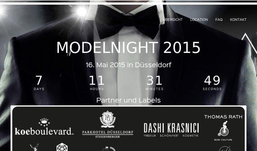 Offizielle Homepage der Modelnight by Model Pool