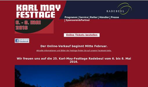 Karl-May-Festtage Radebeul