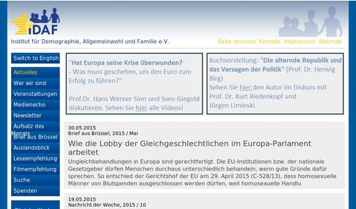 "Weitere Infos zu ""How the same-sex lobby works in the European Parliament"""