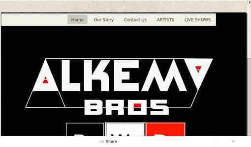 Alkemy Brothers website for Black Work, Red Work, and White Work labels.