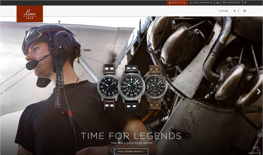 Laco Watches Website