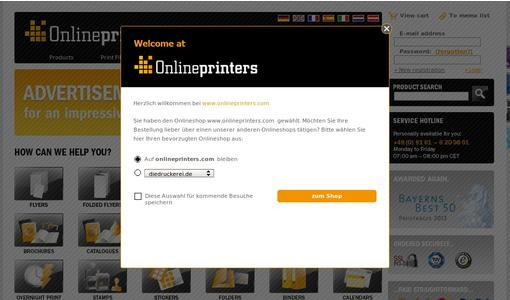 "Weitere Infos zu ""Onlineprinters is Once Again Official Partner of the German SuperCup"""