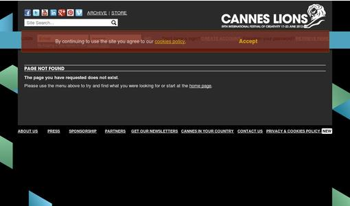 "Weitere Infos zu ""Tech Talk Launches At Cannes Lions 2012"""