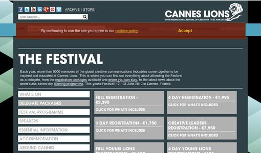 "Weitere Infos zu ""Cannes Lions Adds More Judges To The Two New Categories As Entries Increase"""