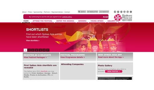 "Weitere Infos zu ""Spikes Asia 2012 Festival Opens  First Shortlists Released"""