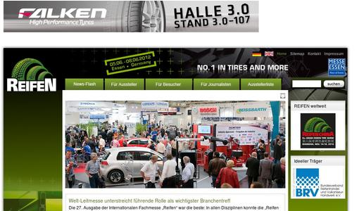 "Weitere Infos zu ""Messe Essen is Already Reporting Records Before the Start: The Largest Tyre Trade Fair of All Time Will Begin on June 5, 2012"""