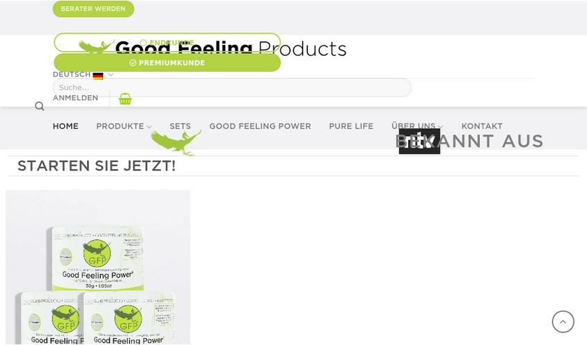 "Weitere Infos zu ""Good Feeling Products S.L."""