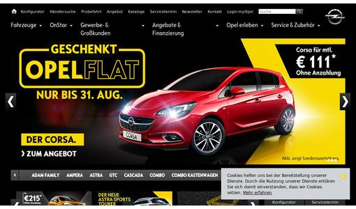 "Weitere Infos zu """"e"" for Electrifying: Opel Ampera-e World Premiere in Paris"""