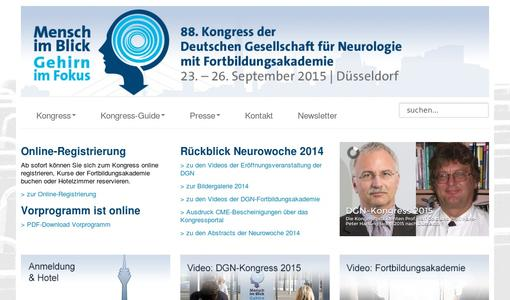 Kongress-Website