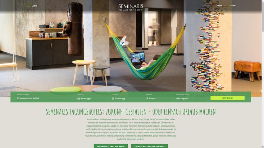 Seminaris Hotels Website