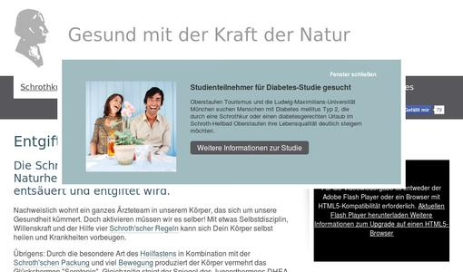 Website Schrothkur