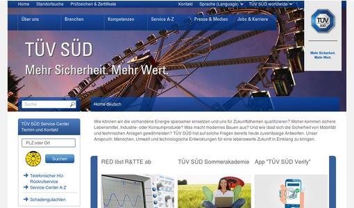 "Weitere Infos zu ""TÜV SÜD: be ahead. get connected"""