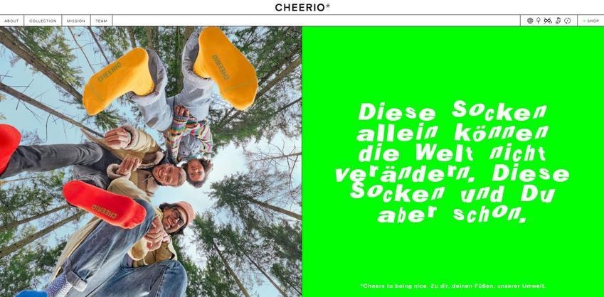 CHEERIO* Website