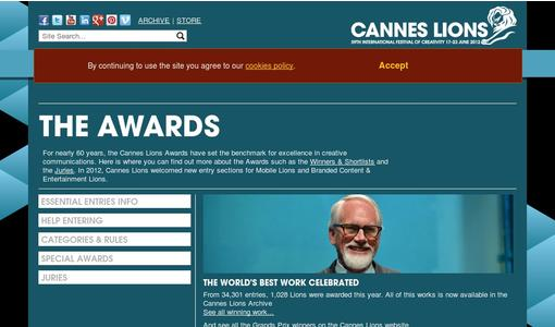"Weitere Infos zu ""Cannes Lions Announces Creative Effectiveness, Design, Film And Pr Juries"""