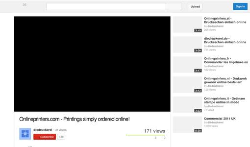 "Link to the explain-it video clip ""Printings simply ordered online"