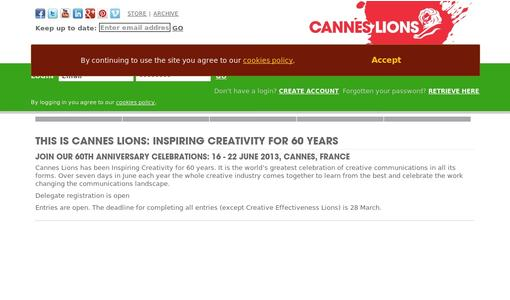 "Weitere Infos zu ""Cannes Lions Inaugurates New Young Account Executive Academy"""