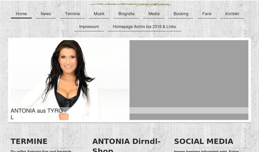 Here you can find, music, news, videos, tour dates and more from Antonia Tyrol..