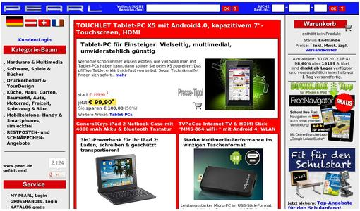 "Weitere Infos zu ""TOUCHLET Tablet-PC X10 Android4.0, 9.7""-Touchscreen kapazitiv, HDMI"""