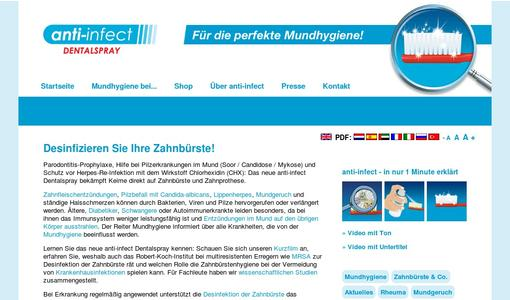 "Weitere Infos zu ""Prevent the risk of infections caused by accumulation of pathogen germs on toothbrushes"""