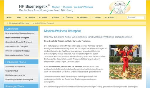 Intensiv-Studium: Medical-Wellness-Sport-TherapeutIn