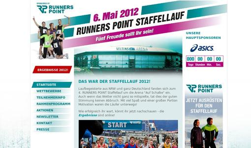 RUNNERS POINT Staffellauf