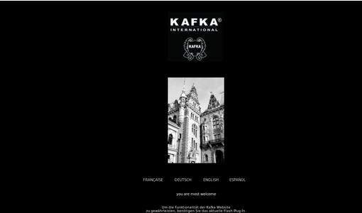 Homepage der Kafka International